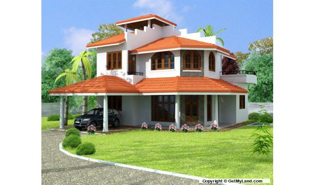 House for sale in kadawatha design and for Home landscape design sri lanka